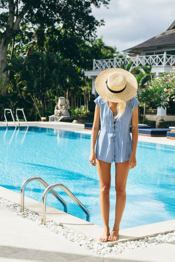 Blue Sunday Romper | REBEL & STONE SS15