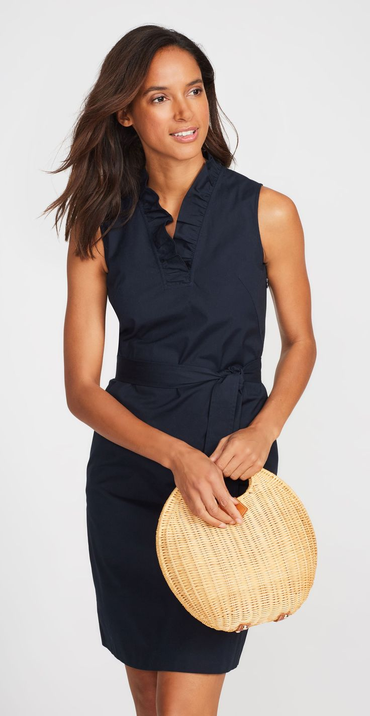Classic yet contemporary, J. McLaughlin's Lindy Sleeveless Ruffle Dress, Women's New Arrivals and clothing collection combine traditional styles with world-class fabrics. Shop the official site and get free shipping on orders of $150 or more.