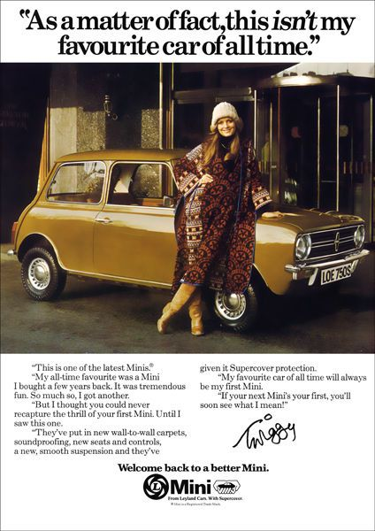 MINI CLUBMAN AUSTIN MORRIS BMC RETRO A3 POSTER PRINT FROM 70'S ADVERT | eBay