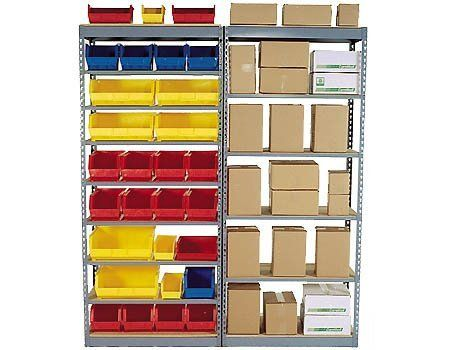 "7 Shelf Boltless Shelving Starter - 48""W x 18""D - 250 lbs/shelf by Western Pacific. $83.36. 7 Shelf Boltless Storage Shelving Starter Units are designed with side supports on both ends of the shelf unit. They can be used as self supported and free standing or in conjunction with add-on units to create continuous rows of interconnected shelving units. Starter units are needed as the initial freestanding unit to which add-on units connect to. - - WOOD DECKS ARE NOT..."