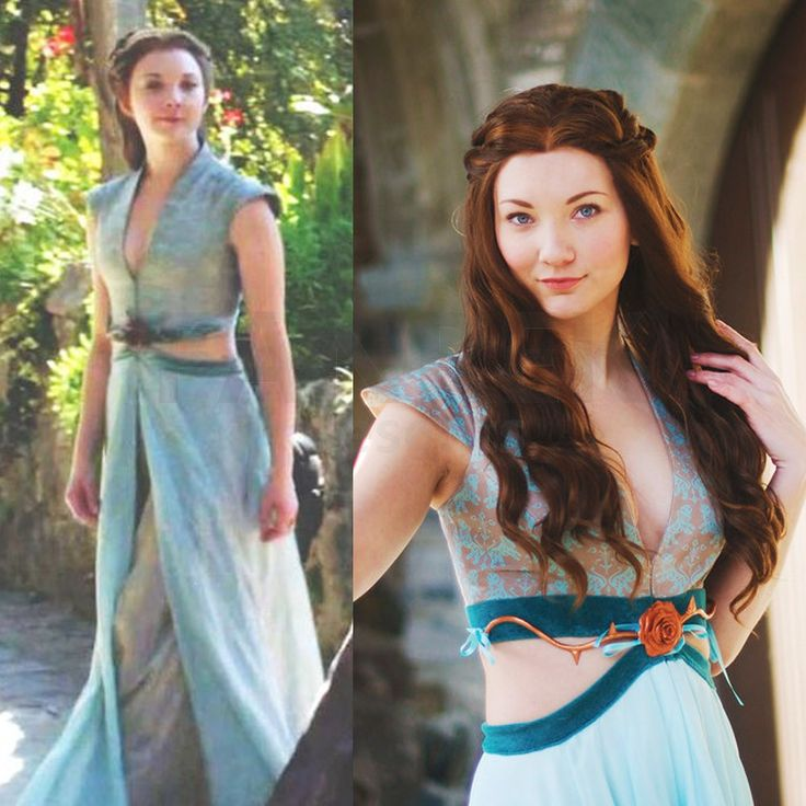 game of thrones cosplay margaery tyrell dress halloween costumes - Halloween Fashion Games