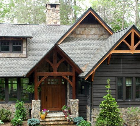 Best 25 hardy board ideas on pinterest hardie board - Rustic home exterior color schemes ...