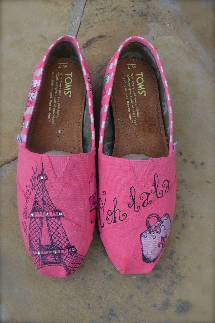 Paris Theme TOMS Shoes
