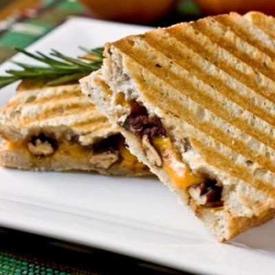 Grilled cheese panini | Panini I love you! | Pinterest