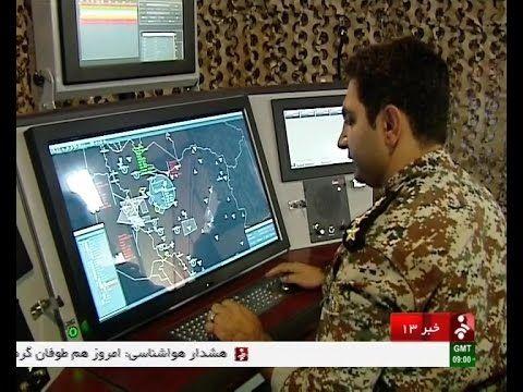 Iran unveiled Nazir & Bina radars_September 1, 2015_رونمايي از رادارهاي ...