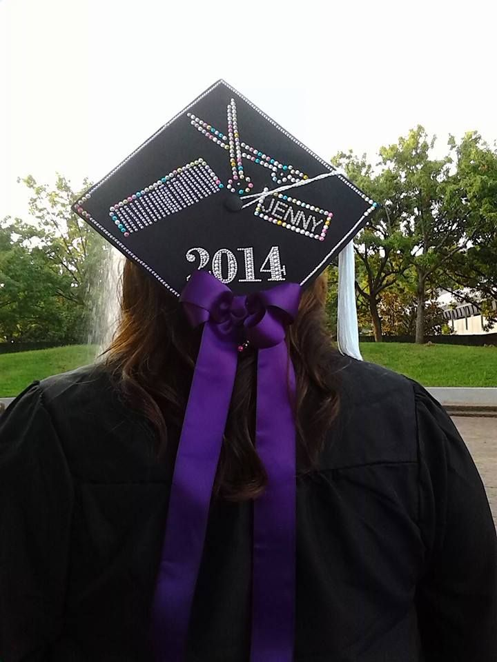 cosmetology graduation cap