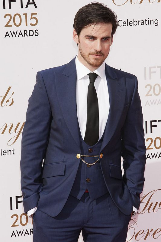 Colin O'Donoghue attends the Irish Film And Television Awards on May 24, 2015 in Dublin, Ireland.