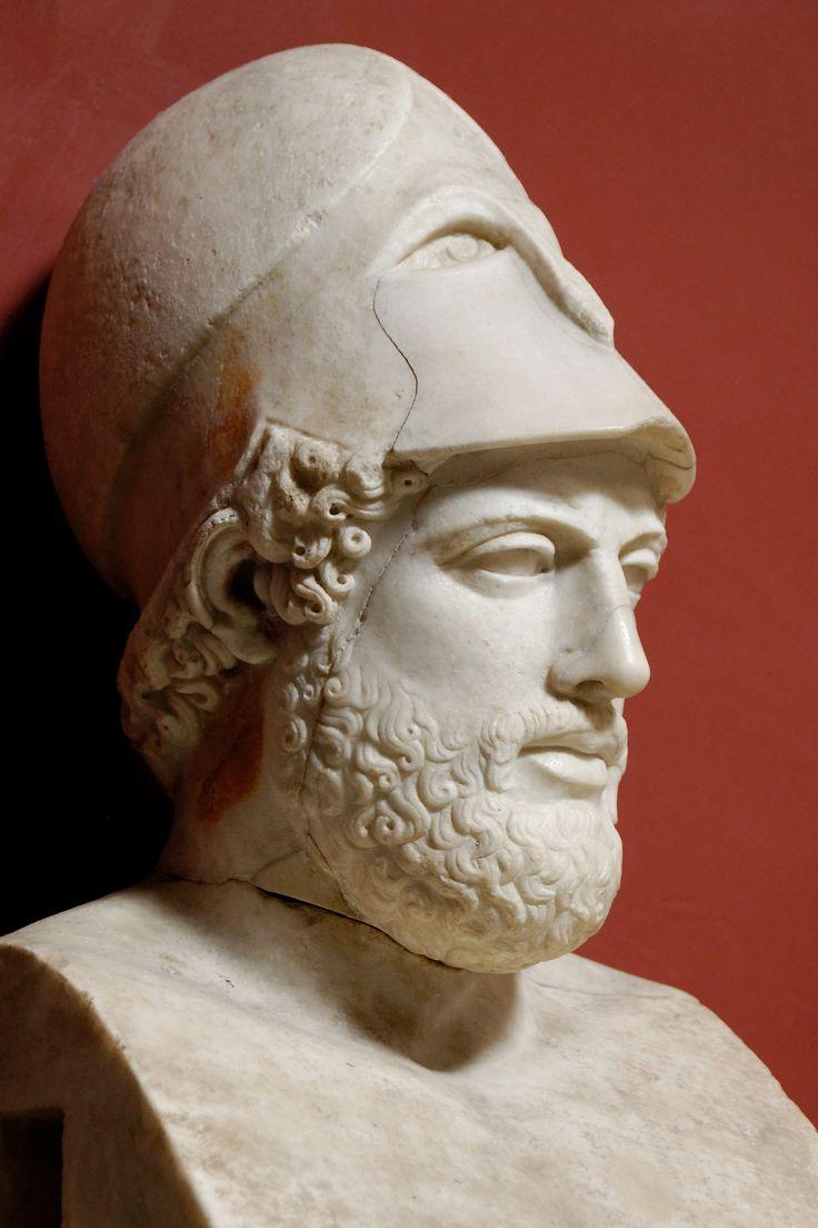 """Pericles (495 a. C.- 429 a. C.)  fue un importante político y orador ateniense en los momentos de la edad de oro de la ciudad (en concreto, entre las Guerras Médicas y las del Peloponeso). Una frase conocida es: """" No se sale adelante celebrando éxitos sino superando fracasos."""""""