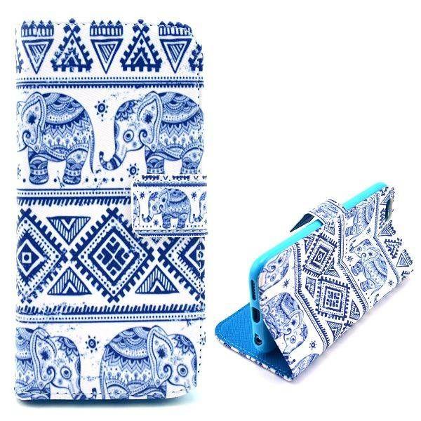 Blauwe olifantjes 3-in-1 hoesje voor iPhone 6 Plus