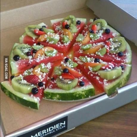 """Fruit """"pie"""" idea"""
