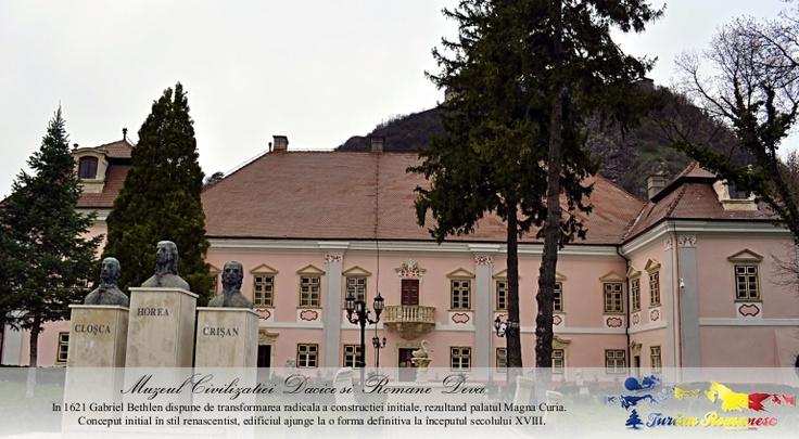 Muzeul Civilizatiei Dacice si Romane, Municipiul Deva, Judet Hunedoara