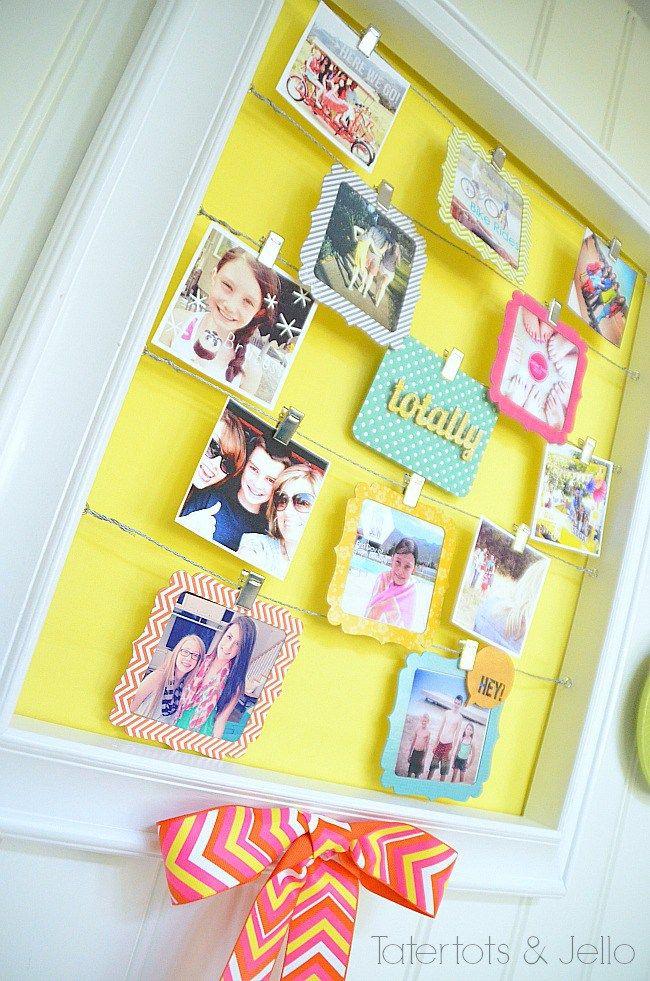 Summer instagram display at tatertots and jello