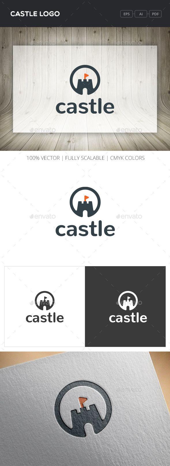 Castle Logo — Vector EPS #kingdom #flag • Available here → https://graphicriver.net/item/castle-logo/12108303?ref=pxcr