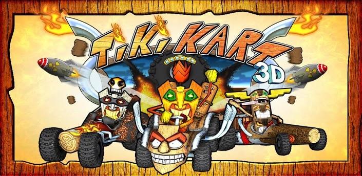 Tiki Kart 3D v4.2 Extreme 3D Kart Racing, now with