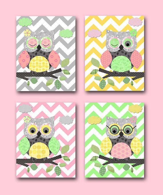 Hey, I found this really awesome Etsy listing at https://www.etsy.com/listing/153628950/owl-decor-owl-nursery-baby-girl-nursery