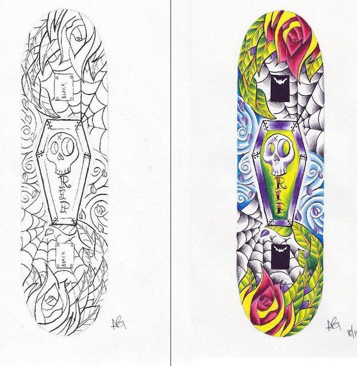 skateboard design layout by beat kids gallery on deviantart - Skateboard Design Ideas
