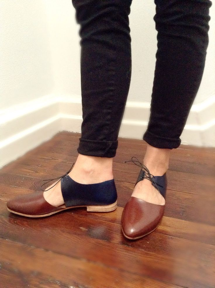 The Javian Almond Toe BVT COT Combo ~ Handmade to Order ~ Chestnut and Black combo Leather ~ maryjane ~ handmade shoe ~ petite thru large by SevillaSmith on Etsy https://www.etsy.com/listing/210741578/the-javian-almond-toe-bvt-cot-combo