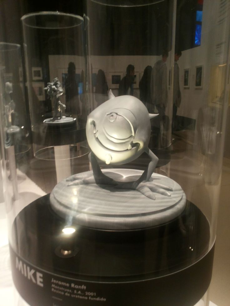 Escultura en miniatura de la película Monstruos S.A. Pixar