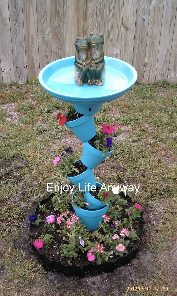 Best 25 Homemade bird baths ideas on Pinterest Walkway Bird