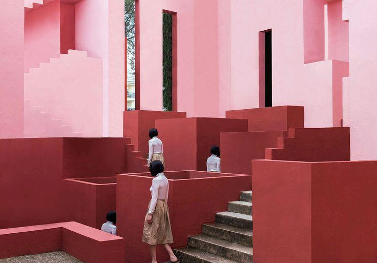 Architecture Meets Perfect Colour Palettes in June Kim