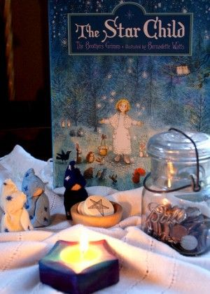 Winter ~ Advent ~ Week Four: The fourth light of Advent is the light of humankind–  The light of hope that we may learn to love and understand. ~ The Star Child story ~ Service Activity, Other-oriented