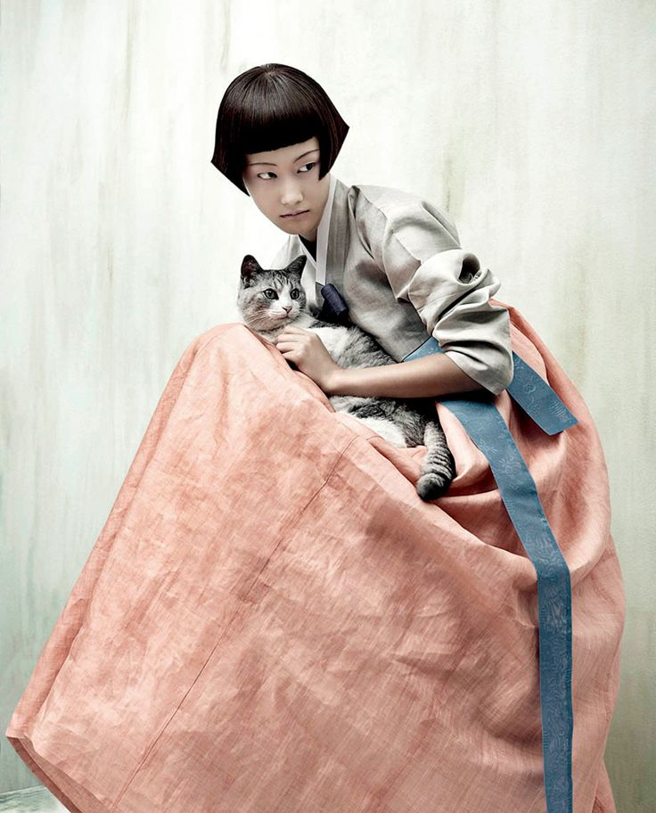 From Kim Kyung Soo's Full Moon Story for Korean Vogue (love the subtle color and textures in this)