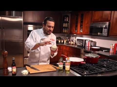 Chef Fabio Viviani  Bertolli Olive Oil: Gorgonzola Radicchio Penne Recipe