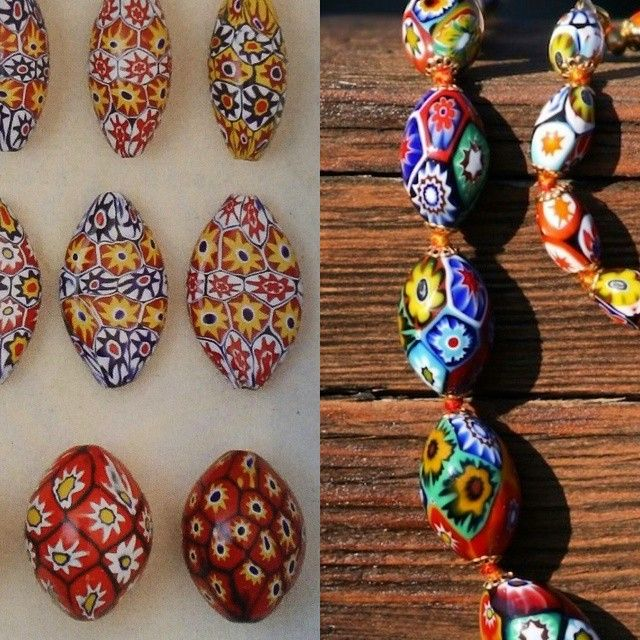 Then and now: Ercole Moretti beads, ca. 1920 and today. #ifitaintbroke #throwbackthursday