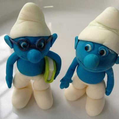 Clumsy & Brainy smurf