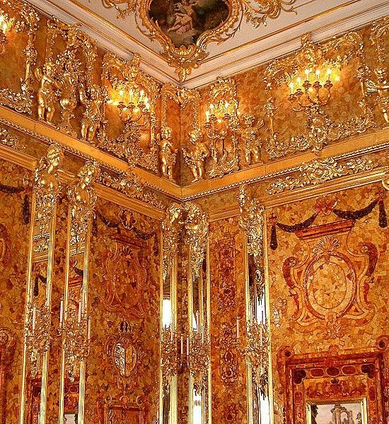 The Amber Room, Germany, konigsberg prussia, lost treasure