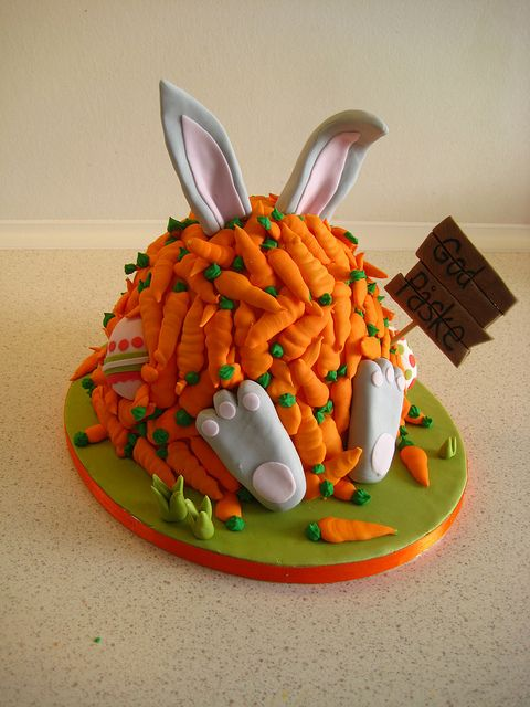 Easter cake. haha this is so cute