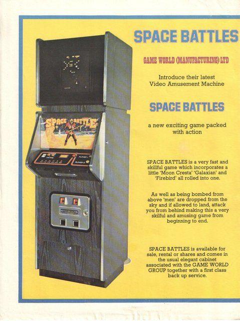 Space Battles (UniWar S) (Game World, 1980)