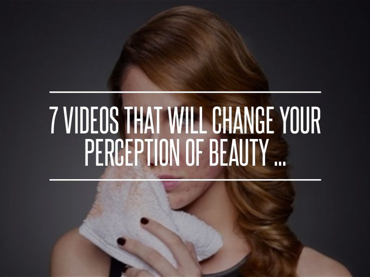7 Videos That Will #Change Your Perception of #Beauty ... → #Inspiration…