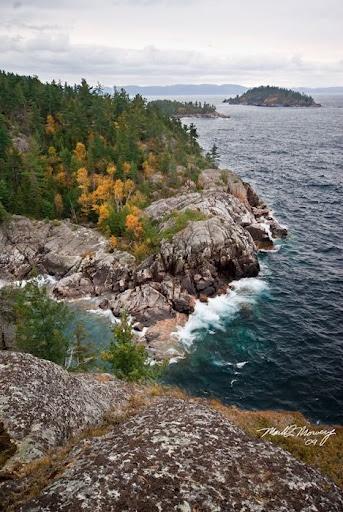 Agawa Bay Shoreline, Lake Superior, Ontario