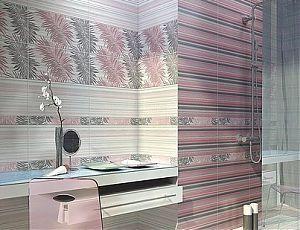 Керамическая плитка для ванной Асти Грэй / Azori