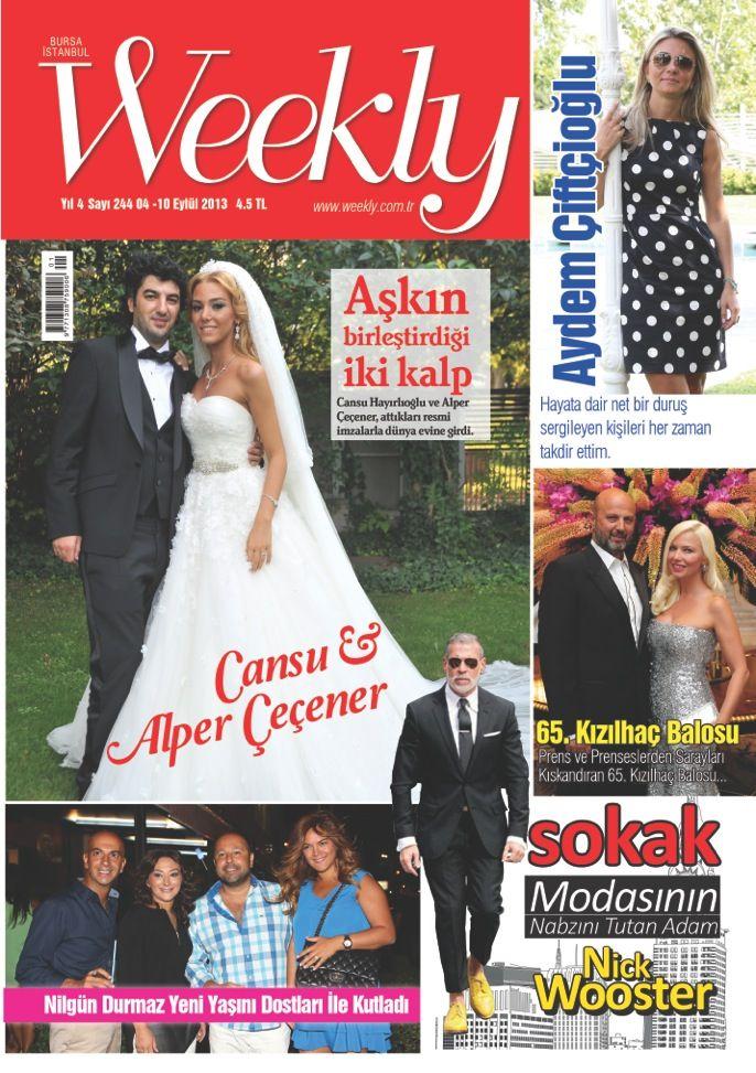 Bugün günlerden WEEKLY! Dergi okumak bu kadar kolay ve keyifli olmamıştı. Hemen okumak için; http://www.dijimecmua.com/weekly/8470/index/ yayında ve bayilerde... www.weekly.com.tr