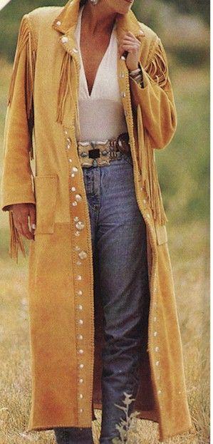 Elk Skin Duster Coat His or Her starting at $1795.00