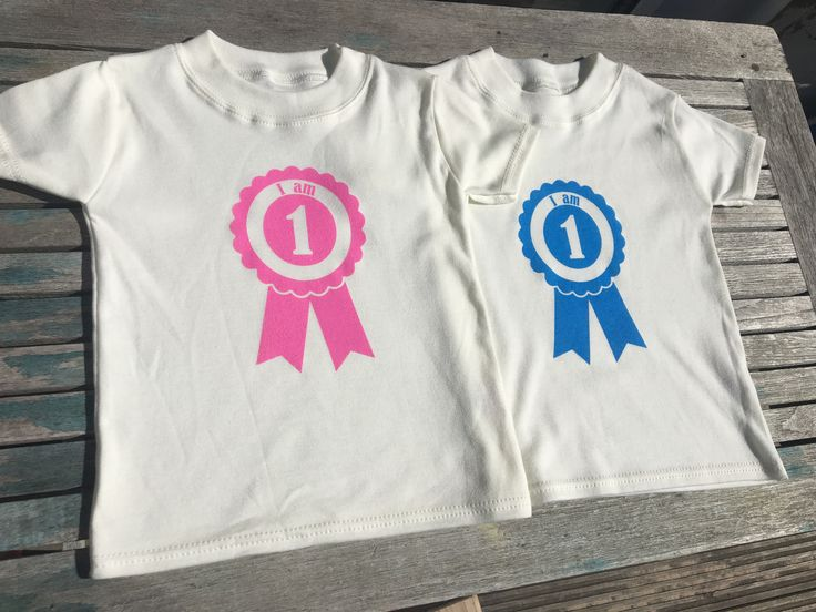 This one of a kind toddler tee is perfect for that first birthday party,or to…