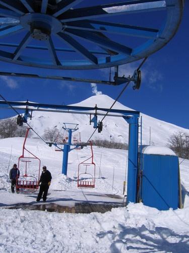Centro de Ski Pucón - Chile (Villarrica - Temuco)