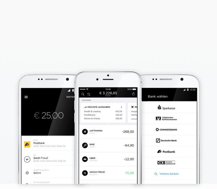 Eine App. Alle Banken.