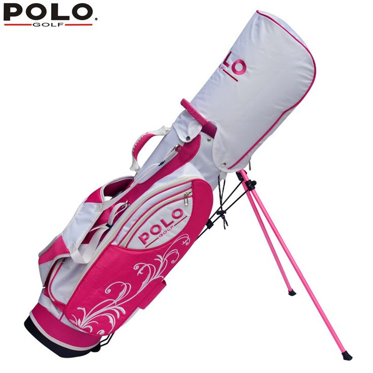 020452 Polo New Golf Waterproof Support Package Youth Ball Cart Bag Golf Rack Bag Can Be Installed 11-13 Club Most Portable