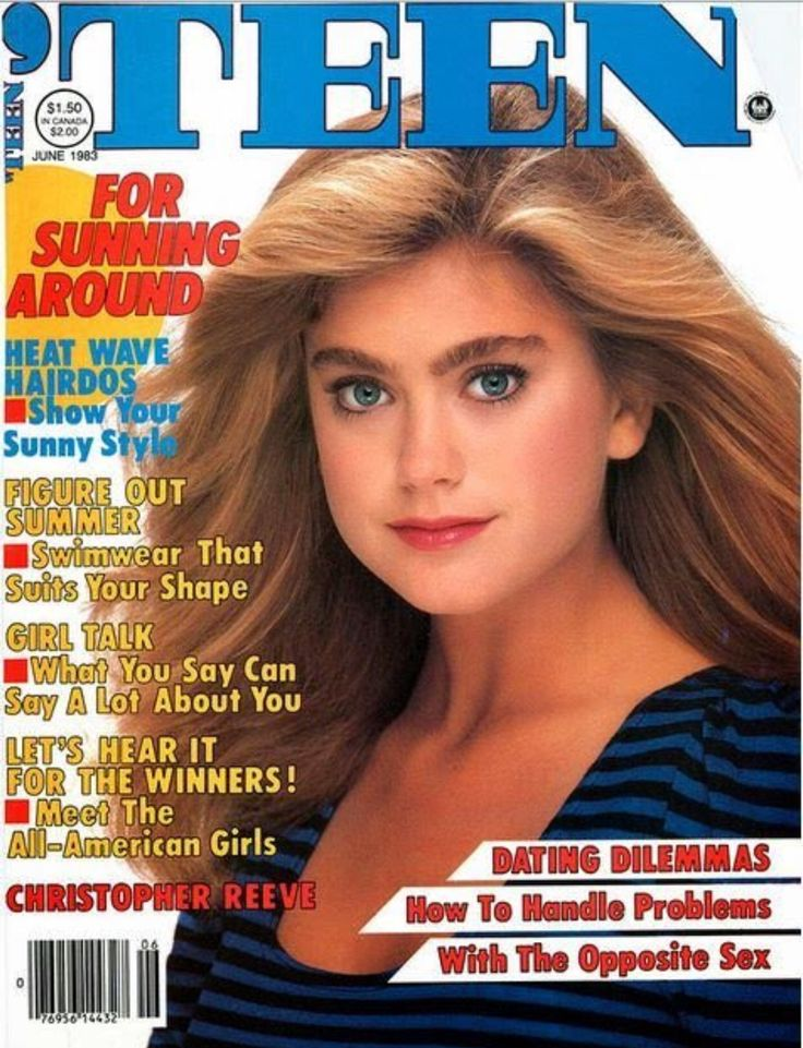 """Teen Cover 1983: """"For Sunning Around"""" this summer! #tbt #summer #teen #icon…"""