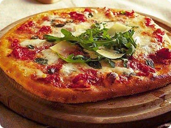 Pizzette napoletane fatte in casa.