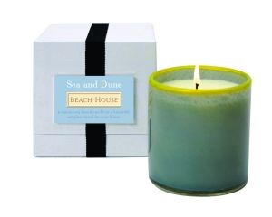 $60 for a candle?  One of my clients had the Blue Bamboo fragrance and it smells amazing.    Lafco House & Home Candle Collection | Sea & Dune | Beach House