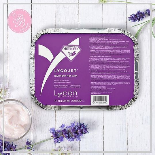 Loving this share of the famous LYCOJET lavender hot wax that can remove stubborn hairs as short as 1mm. Insta'd all the way from Dubai by The Pure Beauty Co. #LYCON #HappyWaxing