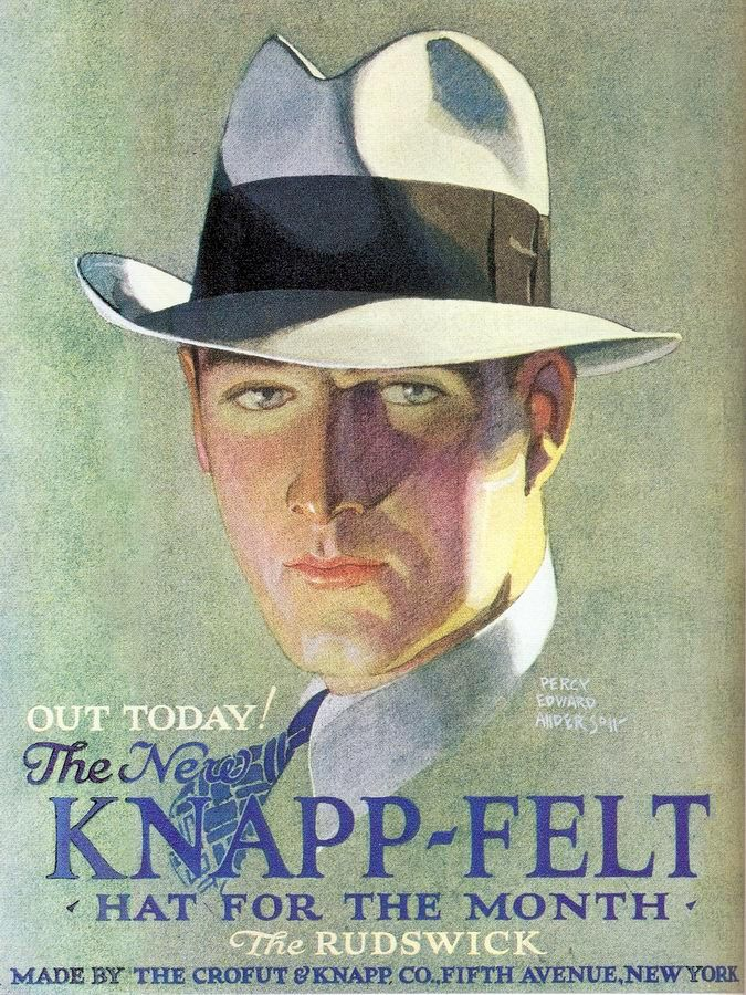 Knapp-Felt Hats 1929 advertisement