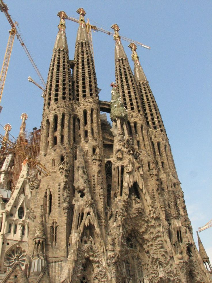 96 best images about gaudi on pinterest parks for Kathedrale barcelona gaudi