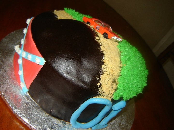 Dukes of Hazzard Birthday Cake