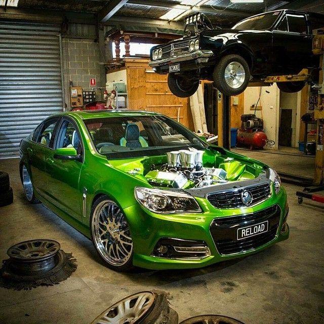 QuotUC SMOKEquot Blown Holden HT Premier Burnout Cars And