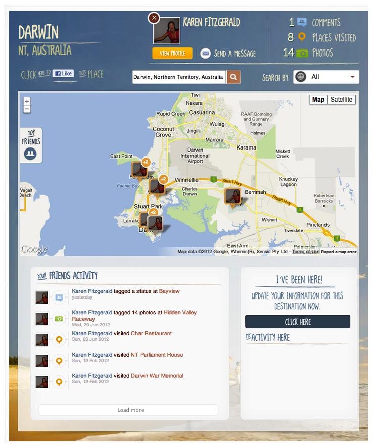 Tourism Australia Facebook App 2